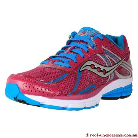 School Shoes - Official Saucony Women's Phoenix 7 Purple/Blue - Kids RZ975144