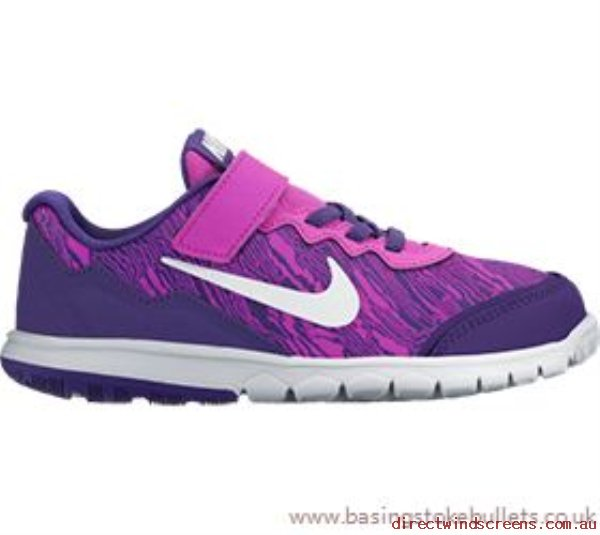 Sneakers & Sports - Excellent Nike Nike Flex Experience 4 Print (Ps) Girls Junior Running Shoe - Kids DO532695