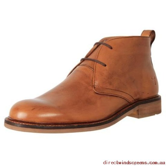 ALL MEN's SHOES - Authorization Windsor Smith Leather Chukka Boot Belfast Tan - Mens GT598715