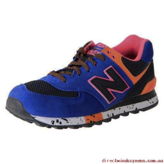 ALL MEN's SHOES - New arrival New Balance Ml574Bo Blue/Black/Orange - Mens GR390832