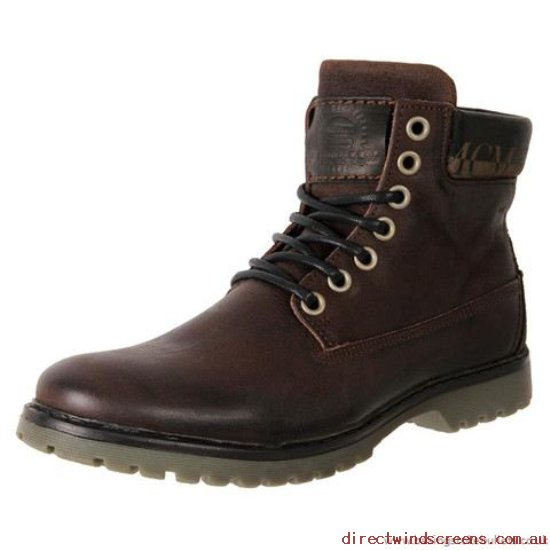 Boots - On-line shop Wild Rhino Thom Lace Up Boots Dark Brown - Mens PR522401