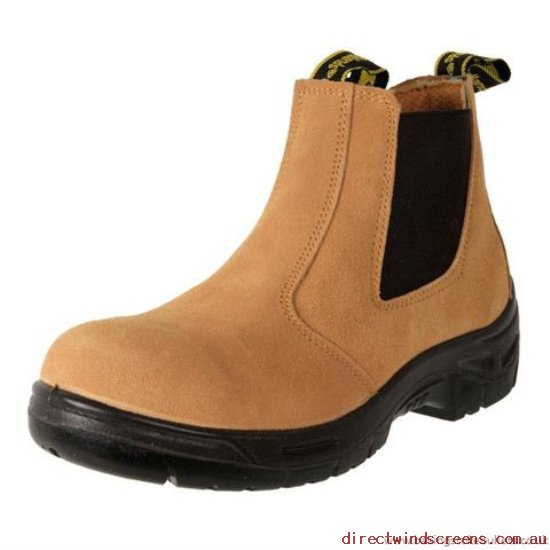 Casual Shoes - Authentic Woodlands Safety Boot Contractor Sand - Mens WE224609