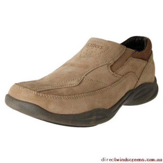 Casual Shoes - Lowest Prices Every Day Slatters Relax Men's Leather Casual Slip On Shoe Camel - Mens NN934481