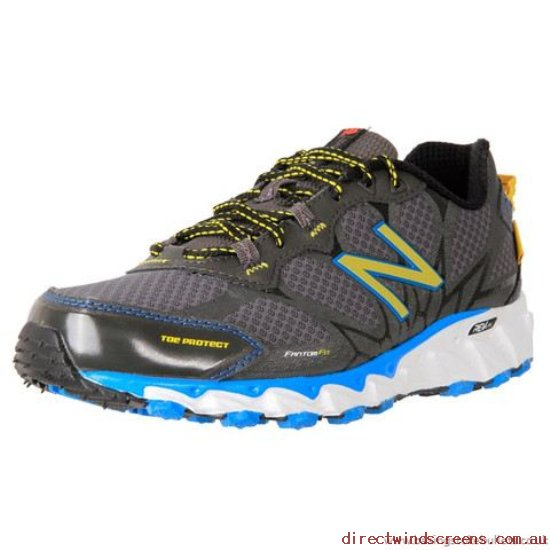 Hiking Shoes - For Sale New Balance Mt790Bb Trail Running Black-Blue 4E - Mens VH423901