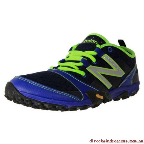 Hiking Shoes - The latest model New Balance Mt10By3 Running Blue/Black - Mens VL609768