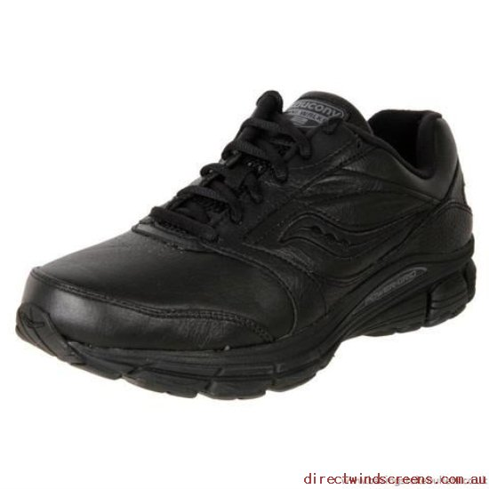 Sneakers & Sports - High fashion Saucony Men's Leather Walker Echelon Le2 Black - Mens AW921073