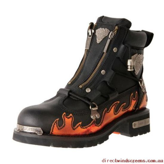 Wide Shoes - Cheap supply Johnny Reb Rampage Flames - Mens KE947514