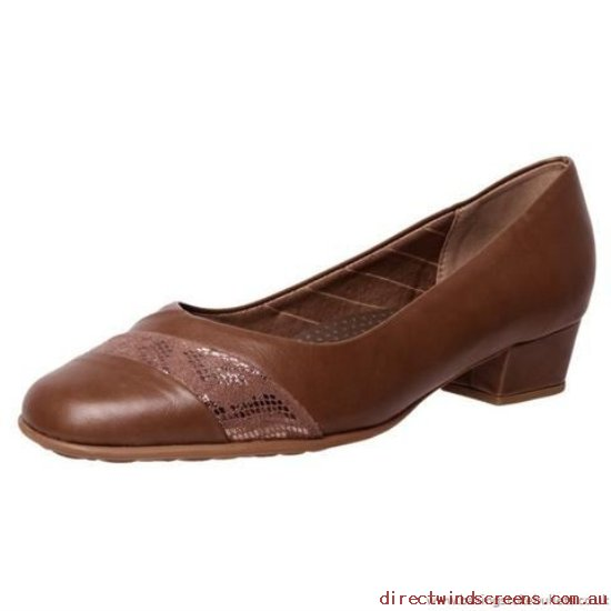 Dress & Party Shoes - Original Piccadilly 141002 Super Cushioned Foot Bed - Latte - Women EO112039