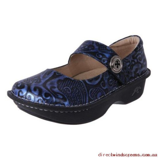 Dress & Party Shoes - With good start Sand Dune Bailey Midnight Blue Embossed - Women FI582817