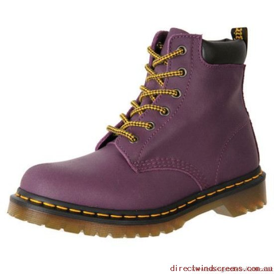 Hiking Shoes - Excellent Dr. Martens Core 939 6 Eye Hiker Boot 20648500 Purple - Women TN521639