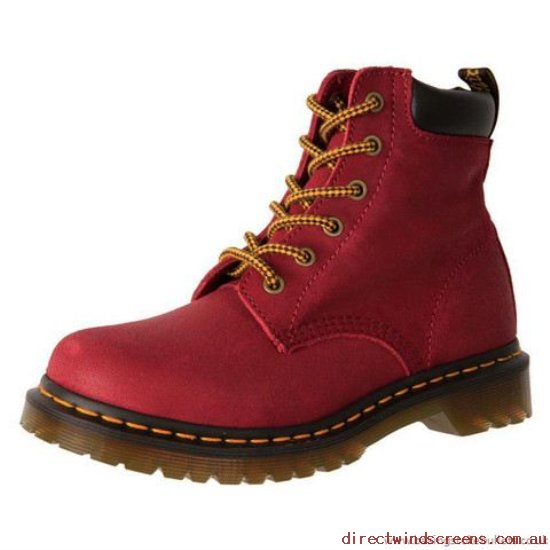 Hiking Shoes - Original Dr. Martens Core 939 6 Eye Hiker Boot 16755601 Deep Red/Dark Brown - Women RO353969