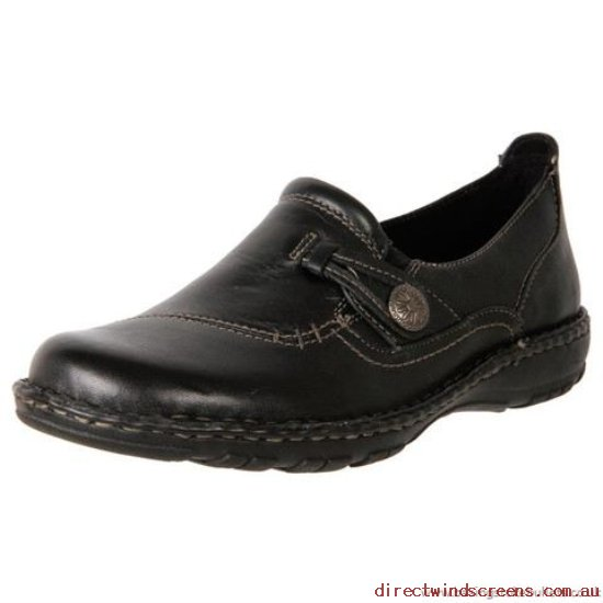 Loafers - Supply Planet Shoes Women's Leather Casual Work Shoe Lacey Black - Women RO443022