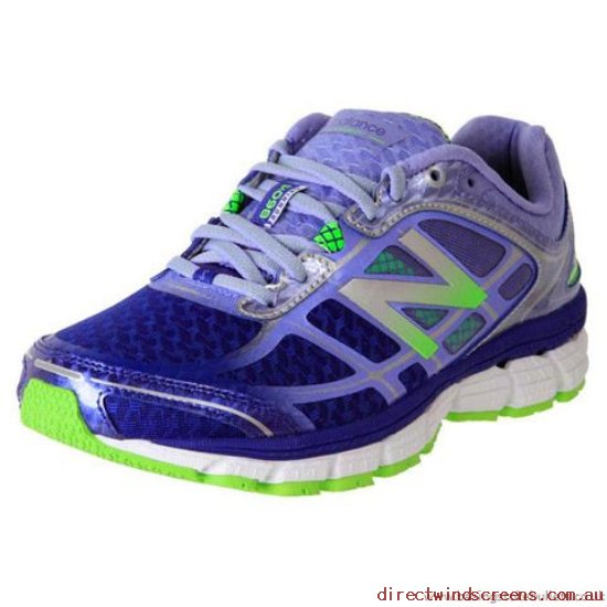 Orthotic Friendly Shoes - Shop Starting Line New Balance W860Pp5 Stability Running Blue Multi - Women CH899152