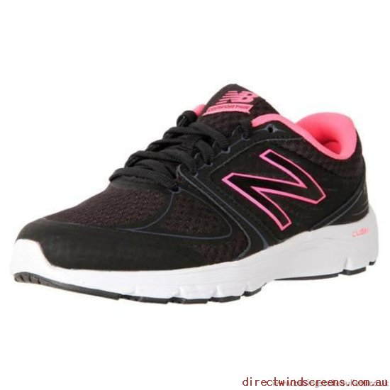 Orthotic Friendly Shoes - Supply New Balance W575Lb2 Neutral Running Black/Pink - Women JD201037