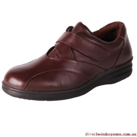 Orthotic Friendly Shoes - Wholesale Pure Comfort Saturn Burgundy - Women TM975260