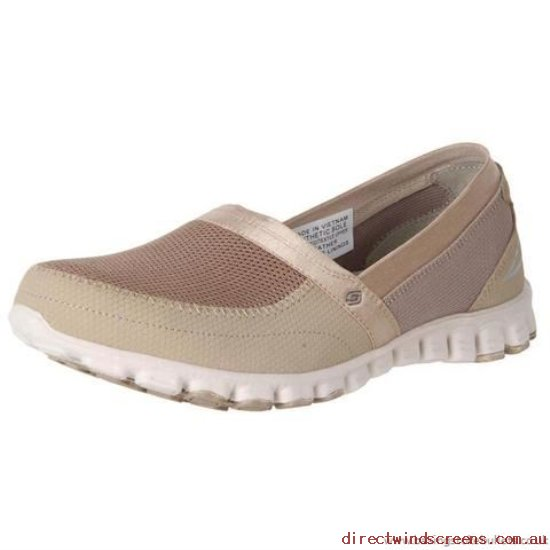 Sneakers & Sports - Shop Starting Line Skechers Ez Flex Take It Easy 22258 Taupe - Women DS145365