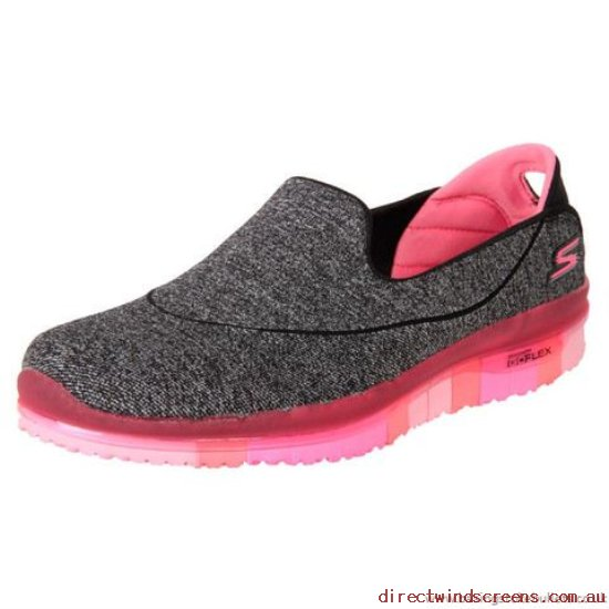 Sneakers & Sports - Wholesale Skechers Go Flex Slip-On 14010 Black/Hot Pink - Women XR449408