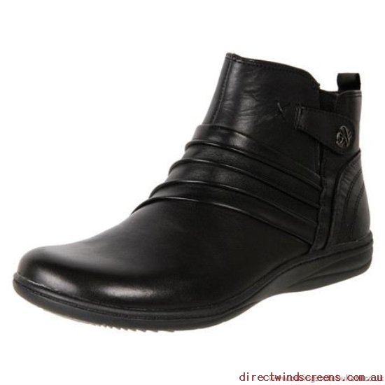 Walking Shoes - balance Online Planet Shoes Women's Leather Comfort Ankle Boot Huron Black - Women CF207104