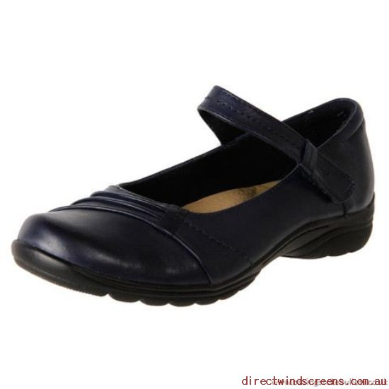 Wedges - Factory Sale Planet Shoes Women's Leather Casual Duty Shoe Fara Navy - Women SQ428417
