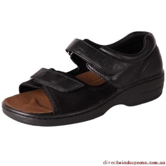Wide Shoes - Genuine Pure Comfort Peru Black - Women TE730797